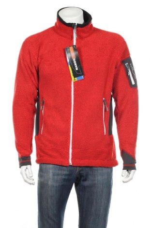 Мъжко спортно горнище Milo, Размер L, Цвят Червен, Полиестер, Цена 38,88лв.