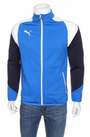 Bluză trening de bărbați PUMA, Mărime S, Culoare Albastru, Poliester, Preț 174,32 Lei