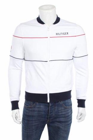 Bluză trening de bărbați Tommy Hilfiger, Mărime XS, Culoare Alb, 60% viscoză, 36% poliamidă, 4% elastan, Preț 313,16 Lei