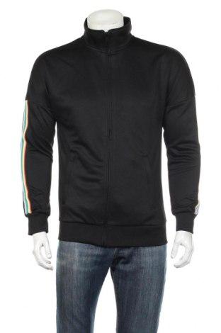 Bluză trening de bărbați Urban Classics, Mărime M, Culoare Negru, Poliester, Preț 92,84 Lei
