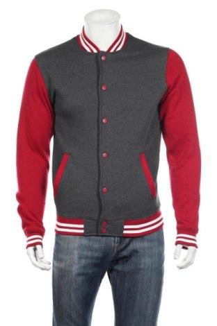 Bluză trening de bărbați Urban Classics, Mărime S, Culoare Roșu, 65% bumbac, 35% poliester, Preț 136,84 Lei