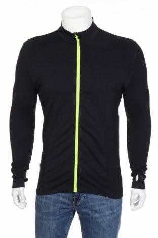 Bluză trening de bărbați Zensah, Mărime L, Culoare Negru, 93% poliamidă, 7% elastan, Preț 102,32 Lei