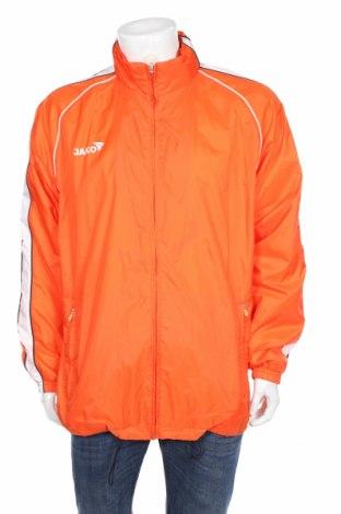 Мъжко спортно яке Jako, Размер XL, Цвят Оранжев, Полиамид, Цена 37,91лв.