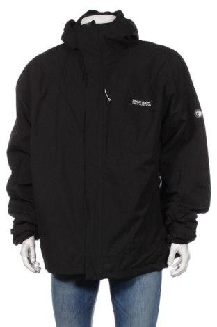 Pánska športová bunda  Regatta, Veľkosť 3XL, Farba Čierna, 100% polyester, Cena  40,72€