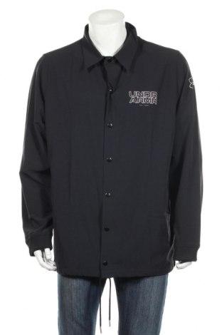 Мъжко спортно яке Under Armour, Размер XL, Цвят Черен, 88% полиестер, 12% еластан, Цена 189,00лв.