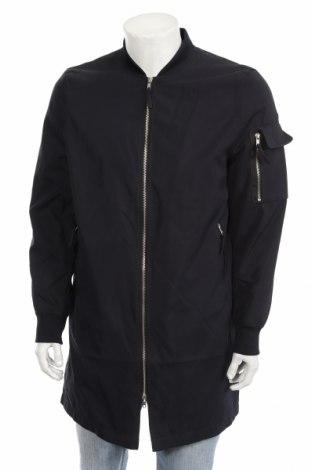Pánska bunda  New Look, Veľkosť M, Farba Modrá, 73% bavlna, 27% polyamide, Cena  23,01€