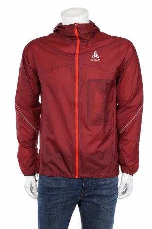Pánska športová bunda  Odlo, Veľkosť L, Farba Červená, Polyamide, Cena  42,27€