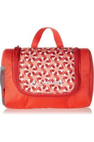 Kozmetická taška  Vaude, Farba Červená, Textil, Cena  14,47€
