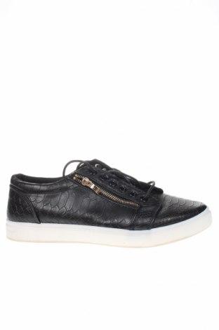 Încălțăminte W.S Shoes, Mărime 44, Culoare Negru, Piele ecologică, Preț 66,58 Lei