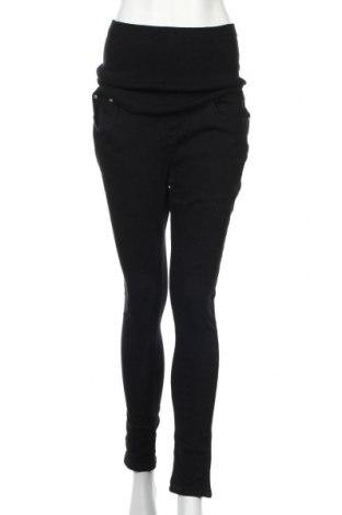 Панталон за бременни Boohoo, Размер M, Цвят Черен, 65% памук, 23% полиестер, 2% еластан, Цена 37,44лв.
