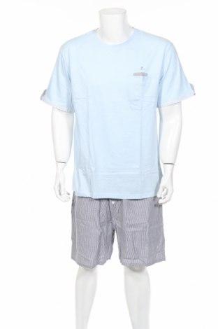 Пижама Alan Brown, Размер XXL, Цвят Многоцветен, Памук, Цена 36,75лв.