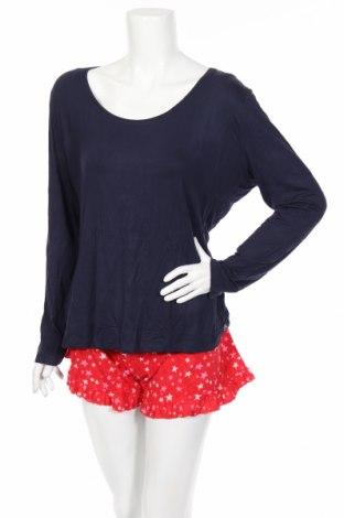 Pijama Boux Avenue, Mărime XL, Culoare Albastru, Bumbac, viscoză, elastan, Preț 82,90 Lei