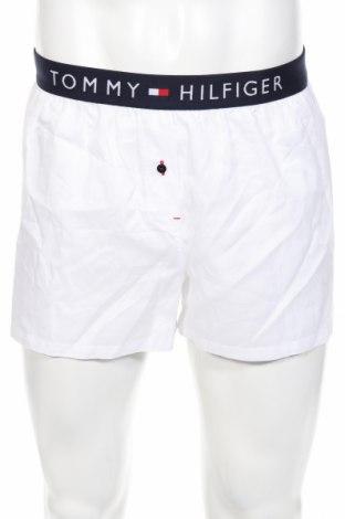 Pijama Tommy Hilfiger, Mărime M, Culoare Alb, Bumbac, Preț 70,92 Lei