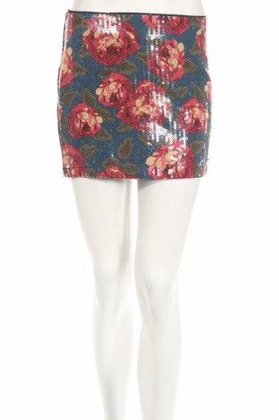 Пола Abercrombie & Fitch, Размер XS, Цвят Многоцветен, Памук, Цена 47,52лв.