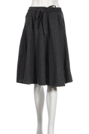 Fustă American Vintage, Mărime XS, Culoare Gri, 60% bumbac, 30% poliester, 10% viscoză, Preț 111,79 Lei