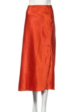 Пола Ax Paris, Размер XL, Цвят Оранжев, 98% полиестер, 2% еластан, Цена 38,88лв.