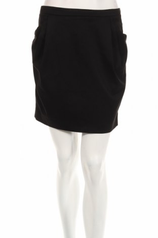 Пола Zara, Размер S, Цвят Черен, 49% полиестер, 49% вискоза, 2% еластан, Цена 6,24лв.