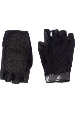 Mănuși Adidas, Culoare Negru, 55% poliamidă, 45% poliuretan, Preț 106,11 Lei