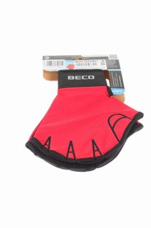 Ръкавици Beco, Цвят Червен, Неопрен, Цена 17,40лв.