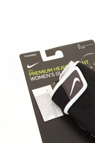 Ръкавици Nike, Цвят Черен, 47% полиестер, 26% полиамид, 22% полиуретан, 5% ацетат, Цена 29,50лв.