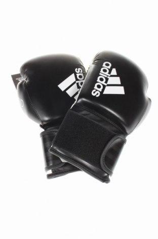Mănuși de box Adidas, Culoare Negru, Piele ecologică, Preț 85,39 Lei