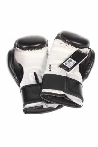 Ръкавици за бокс Adidas, Цвят Черен, Еко кожа, Цена 32,45лв.