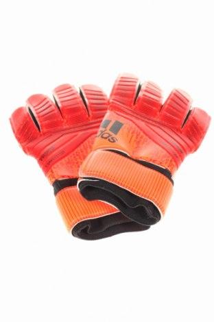 Mănuși pentru fotbal Adidas, Culoare Roșu, 63% poliester, 37% poliuretan, Preț 85,39 Lei