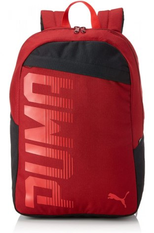 Rucsac PUMA, Culoare Roșu, Textil, Preț 155,92 Lei