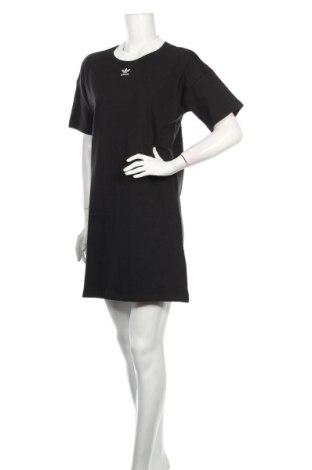 Φόρεμα Adidas Originals, Μέγεθος S, Χρώμα Μαύρο, Βαμβάκι, Τιμή 48,38€