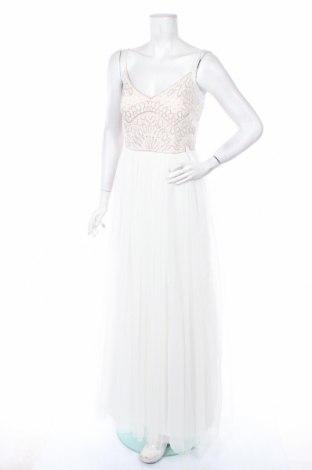 Рокля Adrianna Papell, Размер M, Цвят Бял, Полиестер, Цена 155,40лв.