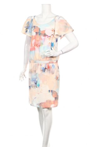 Рокля Atmos Fashion, Размер XS, Цвят Многоцветен, 98% полиестер, 2% еластан, Цена 21,26лв.