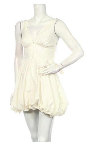 Rochie Elisabetta Franchi, Mărime M, Culoare Ecru, 96% bumbac, 4% elastan, Preț 470,84 Lei