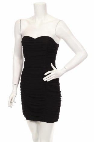 Рокля H&M, Размер M, Цвят Черен, Полиестер, Цена 36,40лв.