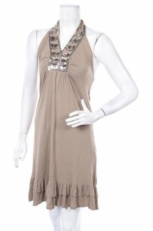 Φόρεμα Just Female, Μέγεθος L, Χρώμα Καφέ, 95% βαμβάκι, 5% ελαστάνη, Τιμή 11,82€