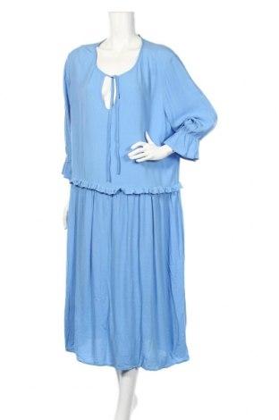 Rochie Numph, Mărime XL, Culoare Albastru, Viscoză, Preț 418,42 Lei