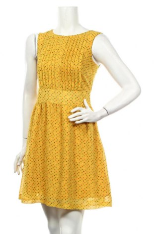Sukienka Traka Barraka, Rozmiar S, Kolor Żółty, Poliester, Cena 68,40zł