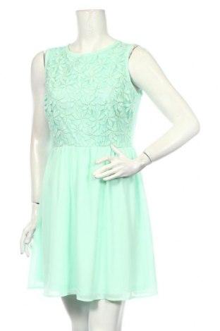 Šaty  Xhilaration, Veľkosť L, Farba Zelená, 82% bavlna, 18% polyamide, Cena  14,93€
