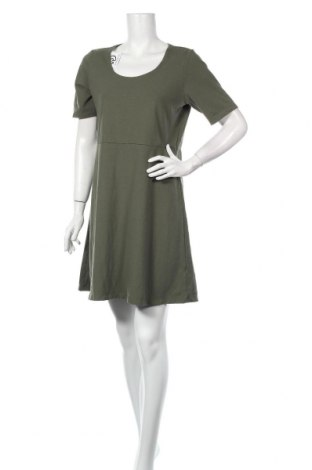Šaty  sahalie, Veľkosť L, Farba Zelená, 54% bavlna, 36% polyester, 10% elastan, Cena  13,33€