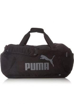 Geantă de călătorie PUMA, Culoare Negru, Textil, Preț 175,66 Lei