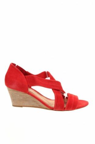 Sandale La Fee Maraboutee, Mărime 41, Culoare Roșu, Velur natural, Preț 392,11 Lei