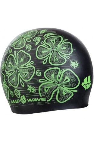 Czapka Mad Wave, Kolor Zielony, Sylikon, Cena 39,38zł