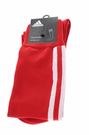 Sportowe skarpety Adidas, Rozmiar XL, Kolor Czerwony, 88% poliester, 11% poliamid, 1% elastyna, Cena 40,70zł