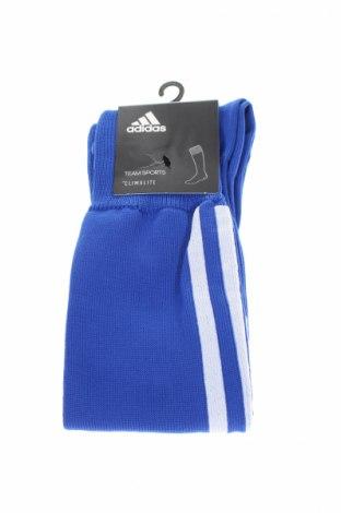 Ciorapi pentru sport Adidas, Mărime M, Culoare Albastru, 88% poliester, 11% poliamidă, 1% elastan, Preț 31,84 Lei