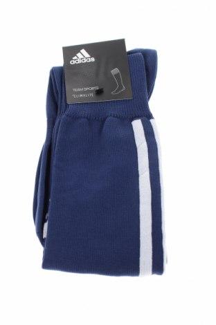 Sportowe skarpety Adidas, Rozmiar L, Kolor Niebieski, 88% poliester, 11% poliamid, 1% elastyna, Cena 40,70zł