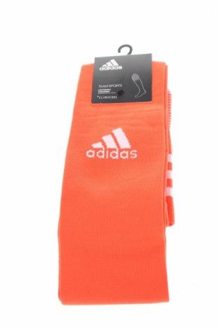 Sportowe skarpety Adidas, Rozmiar XL, Kolor Czerwony, 71% poliester, 25% poliamid, 4% elastyna, Cena 40,70zł