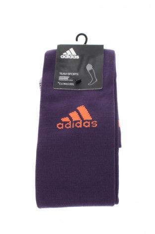 Sportovní ponožky  Adidas, Rozměr S, Barva Fialová, 71% polyester, 25% polyamide, 4% elastan, Cena  175,00Kč