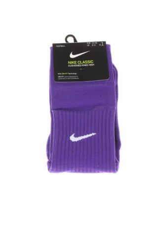 Ciorapi pentru sport Nike, Mărime M, Culoare Mov, 73% poliester, 23% poliamidă, 4% elastan, Preț 45,48 Lei