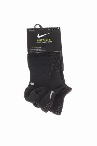 Sportovní ponožky  Nike, Rozměr M, Barva Černá, 73% polyester, 23% polyamide, 4% elastan, Cena  174,00Kč