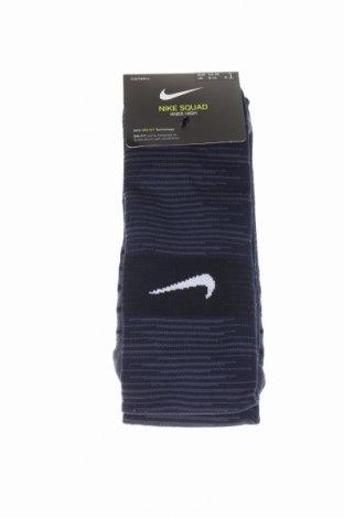 Ciorapi pentru sport Nike, Mărime M, Culoare Albastru, 73% poliester, 23% poliamidă, 4% elastan, Preț 53,05 Lei
