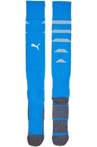 Ciorapi pentru sport PUMA, Mărime S, Culoare Albastru, Poliester, poliamidă, elastan, Preț 73,68 Lei